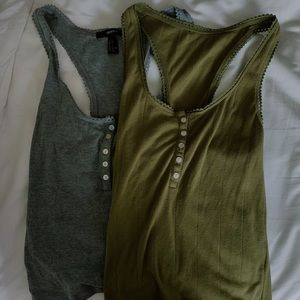 TWO FOR ONE tank tops!!